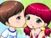 Love kiss couple