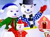 Snowman Family Decor
